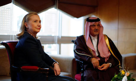 Hillary Clinton and Saudi Arabia united