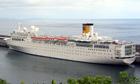 Costa Concordia company ship Costa Allegra
