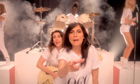 French Vogue editor Emmanuelle Alt in the Wham spoof video