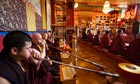 Some of Tibet's most eminent high lamas visit the Kagyu Samye Ling Buddhist Monastery in Scotland