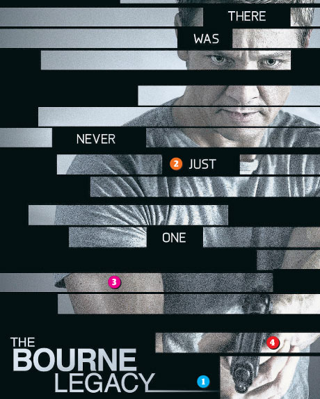 Anatomy of a picture: The Bourne Legacy poster