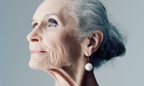Daphne Selfe: 'Everyone can look lovely.' Photograph: Nick Ballon