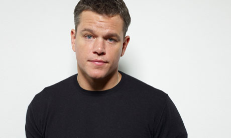 Matt Damon My family values Matt Damon