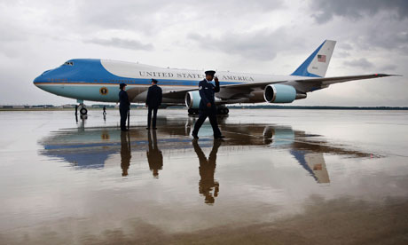 Air Force One in July 2009