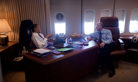 Barack Obama's office on Air Force One