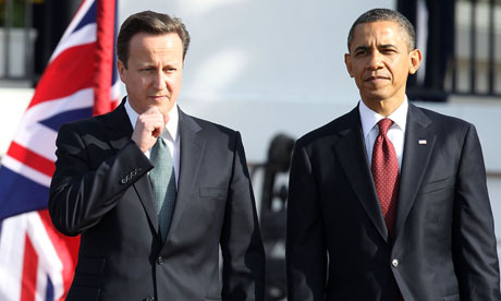David Cameron and Barack Obama, 14 March 2012