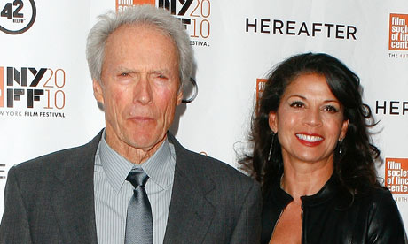 Clint and Dina Eastwood, 2010