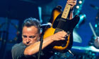 The old ones are the best: Bruce Springsteen in concert.