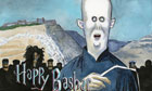 Steve Bell on Bashar al-Assad - cartoon