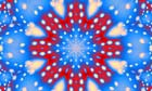 A winter-inspired kaleidoscope