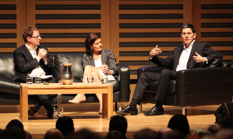 David Miliband at the Guardian Open Weekend