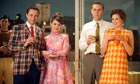 Pete, Trudy, Ken and Cynthia  finally get into the swinging 60s in Mad Men.