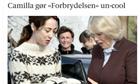 A web page from Danish newspaper Berlingske