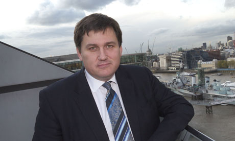 Kit Malthouse on the balcony of the Greater London Authority Building