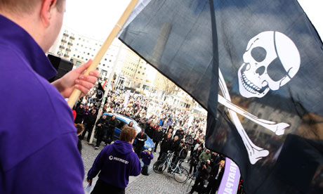Waving the Jolly Roger in Stockholm