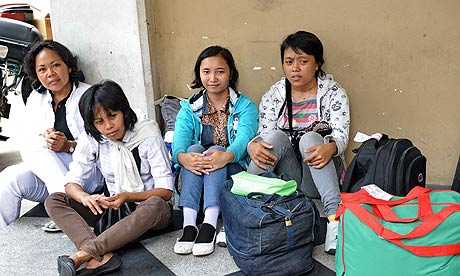 Singapore's maids to get a day off | World news | guardian.