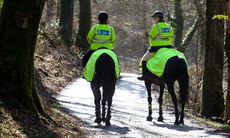 Horseback patrol