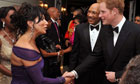 Prince Harry meets Nancy Dell'Olio in Jamaica, March 2012