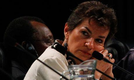UNFCCC secretary Christiana Figueres
