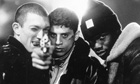 A still from Mathieu Kassovitz's La Haine, to be screened at Broadwater Farm Estate, Tottenham