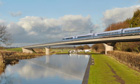 The projected economic benefits of the £33bn HS2 network have been reduced.