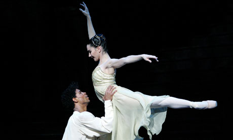 Tamara Rojo and Carlos Acosta in the Royal Ballet's 2012 production of Romeo and Juliet