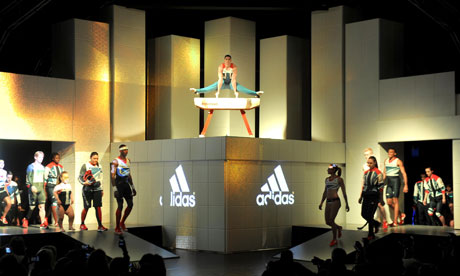 Newspaper reports claim that workers producing Adidas clothing are working