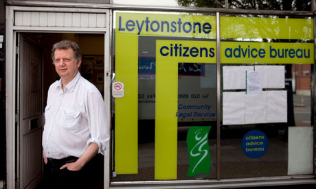 Andy Munton citizens advice bureau