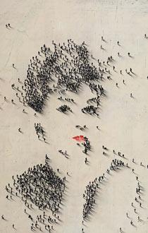 Portrait of Audrey Hepburn by artist Craig Alan