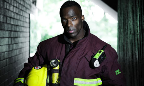 Firefighter Edric Kennedy-Macfoy