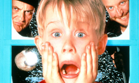 Macaulay Culkin in Home Alone, 1990