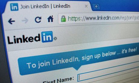 Sign up page of linkedin 008