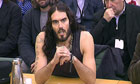 Russell Brand at the Home Affairs select committee