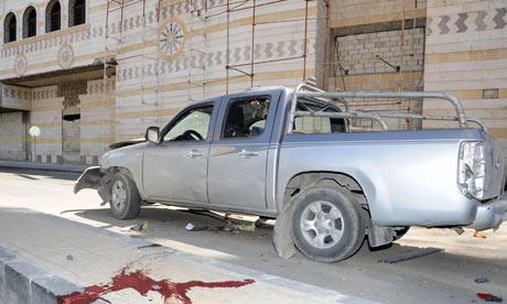 Car bomb, Damascus