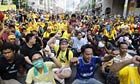 Malaysia protesters call for fair election