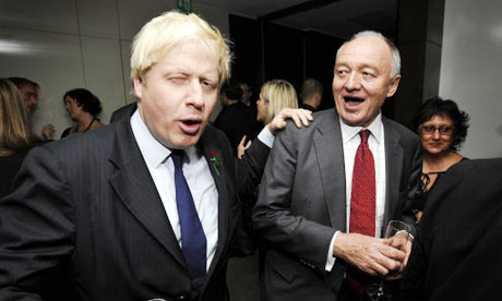Boris Johnson and Ken Livingstone in happier times.