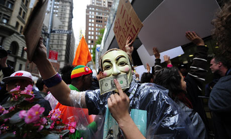 Occupy Wall Street protest in New York