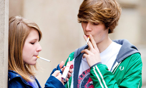 the growing problem of smoking among kids Teen help states that each day 6,000 children under 18 begin smoking each day while many teens smoke, it is illegal for them to purchase tobacco in most states many teens that get caught smoking on public property, especially school, increase their risk for getting expelled and losing their rights as a student.