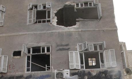 Syria shelling Damascus