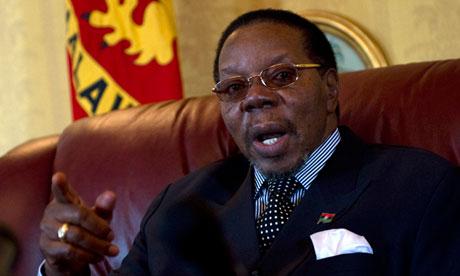Malawi's president, Bingu wa Mutharika