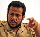 Abdel Hakim Belhaj in Tripoli in August 2011 where he was the rebel military leader