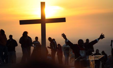 Easter Sunrise Service on Stone Mountain