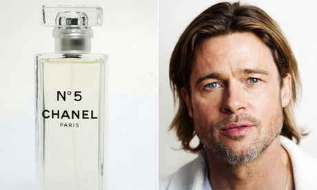 Chanel No5 and Brad Pitt