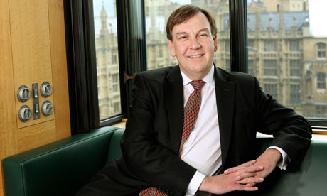 John Whittingdale MP at Portcullis House, May 2012