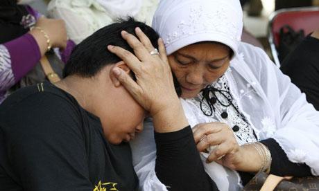 Russian plane crash Indonesia