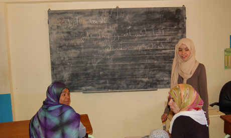 Women's literacy in Morocco