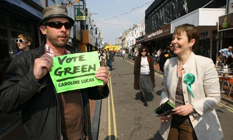 Caroline Lucas, Green Party leader