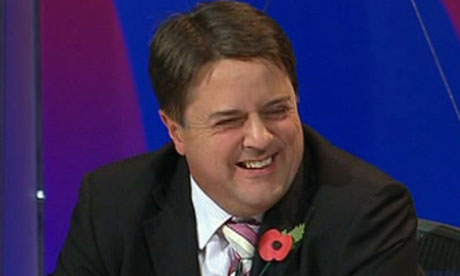 BNP leader Nick Griffin on Question Time