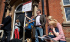 Kensal Rise library protesters