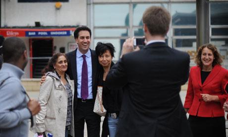 Miliband visit to Harlow
